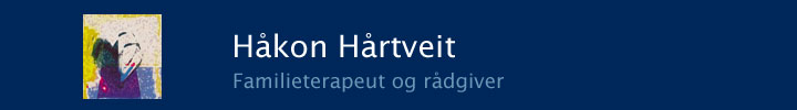 Website for familieterapeut Håkon Hårtveit